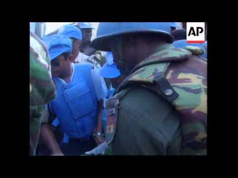 RWANDA - UN PEACEKEEPER KILLED