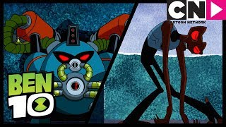 Ben 10 | Evil Versions of Overflow, Grey Matter and Wildvide | King of the Castle | Cartoon Network