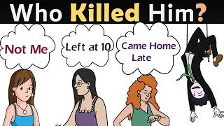 RIDDLES Popular on Mystery Murder| Who Did it?| Riddles Popular in United States | Can You Solve?