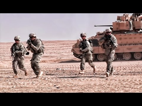 watch U.S. Army 3rd Infantry Div • Live-Fire Training In Kuwait