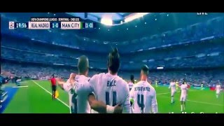 Real Madrid vs Manchester City 1-0 Gareth Bale Goal 04/05/2016
