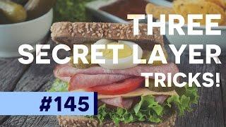Three Secret Layer Tricks in Photoshop CC