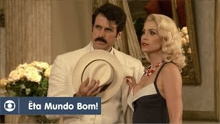 Êta Mundo Bom!: capítulo 68 da novela, terça, 5 de abril, na Globo
