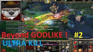 DotA 6.83d - Ember Spirit, Xin Beyond GODLIKE! #2 (Ultra Kill)