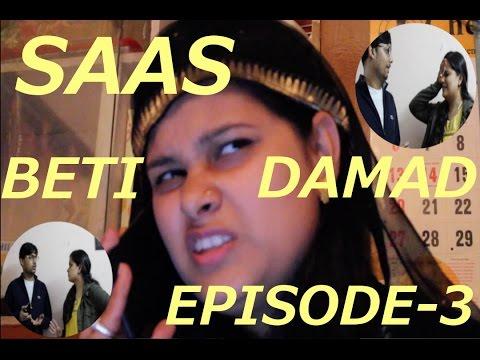 Saas Beti Damad Episode-3