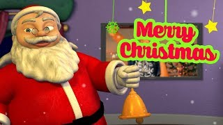 Christmas Song   Hindi Rhymes for Children   Jingle bells   Infobells