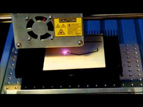 2000mw 808nm laser cutting balsa