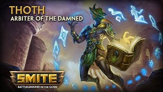 SMITE - God Reveal - Thoth, Arbiter of the Damned