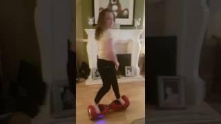 Hoverboard dance 8 year old .