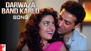 Darwaza Band Karlo Song | Darr | Sunny Deol | Juhi Chawla | Abhijeet Bhattacharya | Lata Mangeshkar