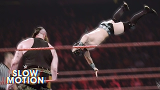 Brutal slow-motion video of Raw's first-ever Dumpster Match: Exclusive, April 25, 2017