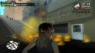 GTA San Andreas - Las novias de cj resistentes (Lanzacohetes, Carga explosiva)