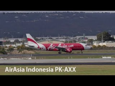 Xxx Mp4 AirAsia Indonesia PK AXX Airbus A320 216 Departing Perth Airport 3gp Sex