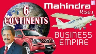 Mahindra & Mahindra Business Empire   How big is Mahindra & Mahindra?   Anand Mahindra