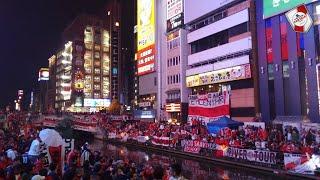 BANDERAZO HISTÓRICO DE RIVER EN JAPON リバープレート