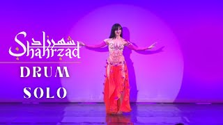 Shahrzad Belly Dance Drum solo Germany 2016