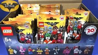 The Batman Movie Minifigures FULL BOX Opening
