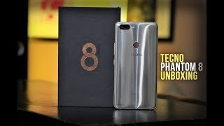 Tecno Phantom 8 Unboxing and First Impressions