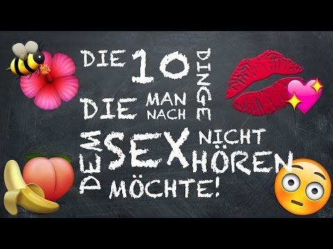 SEX – und was man danach nicht hören möchte