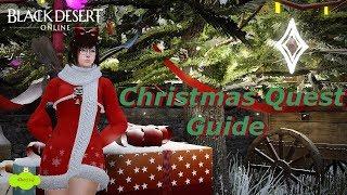 Black Desert online - Christmas Quest Guide + Free Maid Quest (2017)