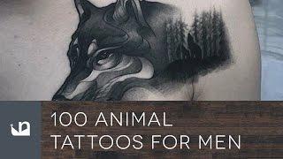 100 Animal Tattoos For Men