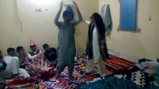 Sindhi boys dance at home