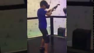 HTC Vive VR Glasses VR Walking Interactive Gun Shooting Games