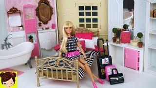 Barbie Hotel Habitacion con Baño y Cocina Miniaturas para Muñecas -  Los Juguetes de Titi