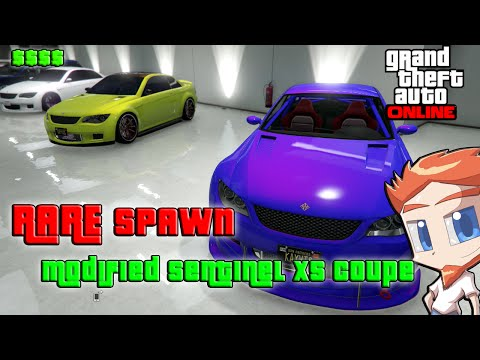 GTA 5 Online - FREE Modded Sentinel XS Coupe Spawn Location (Rare Spawns GTA Online)
