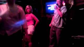 Crazy Drunk Lady Dancing