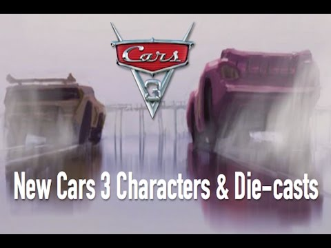 New Cars 3 Characters & Die casts New Cruz Ramirez Picture Speculation & Breakdown