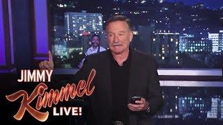 Robin Williams Helps Matt Damon with His Monologue