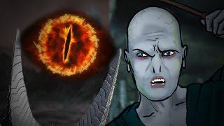 Sauron VS Voldemort - Epic Rap Battle