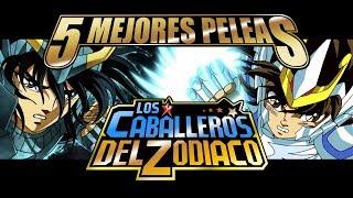 5 Mejores Peleas De Los Caballeros Del Zodiaco