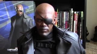 Hot Toys MMS 315 Nick Fury- TWS & the Agents of Shield