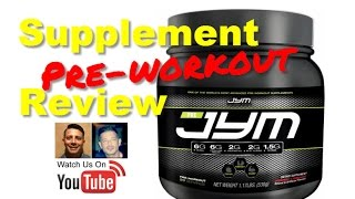 Best Pre Workout Supplement for 2016 Jym by Jim Stoppani Review
