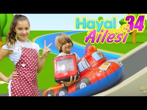 Çocuk dizisi türkçe. Hayal Ailesi Bulaşık Makinesi alıyor. #Annebabaoyunu