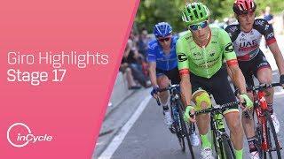 Giro d'Italia: Stage 17 - Highlights