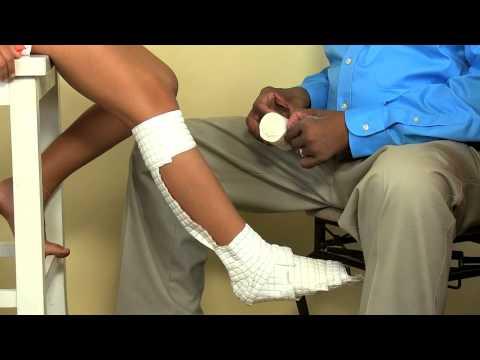Short Leg AquaCast Application
