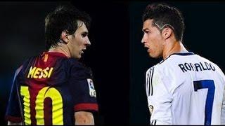 Messi vs Cristiano Ronaldo | Top 10 Melhores Gols