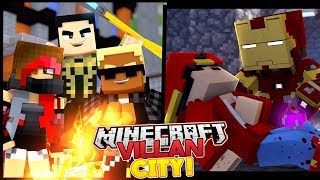 THE MINEVENGERS HAVE NO SUPERHERO POWERS ANYMORE - MINECRAFT ADVENTURE