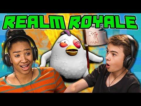 REALM ROYALE React Gaming