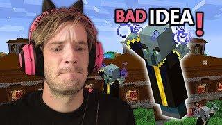 Menyerang Perpustakaan Hutan Di Minecraft