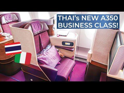 TRIPREPORT Thai Airways ROYAL SILK Airbus A350 900XWB Milan Malpensa Bangkok Suvarnabhumi