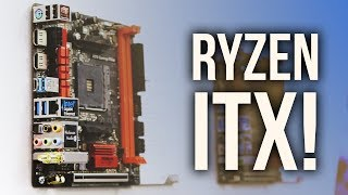 FINALLY!  A Ryzen ITX Motherboard!
