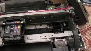 Canon MP510 Repair (Not Printing Black)