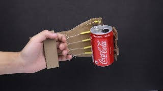 Make a Simple Robotic Arm From Cardboard | DIY