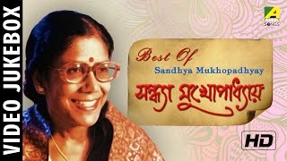 Best Of Sandhya Mukhopadhyay | Bengali Movie Video Songs Jukebox