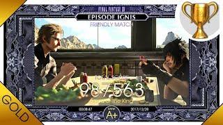 Final Fantasy XV Episode Ignis · 'Friendly Match' Walkthrough - Rank A+ Guide | 60fps Gameplay
