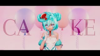 【MMD】 CAKE (ENG/RUS sub) 【60 FPS】